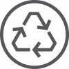 11. Reduce Waste icon white
