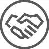 9. Form Partnerships icon white